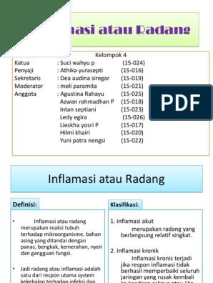 mic tratament al inflamațiilor articulare