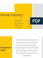 Ppt Selai Home Industry