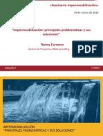 Impermeabilizacion Principales Problematicas y Sus Soluciones Nancy Soto Sika