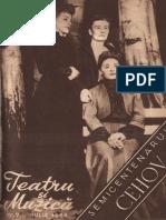 "05-Teatru-si-muzica-07-iulie-1954 - Cehov ""Trei surori"""