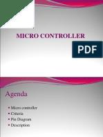 Microcontroller (8051)-A short description