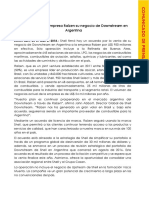 Shell Argentina - Comunicado de Prensa