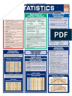 (Quickstudy Reference Guides - Academic) Barcharts-Statistics -Barcharts Inc (2003)