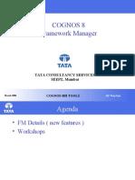 COGNOS 8 - Framework Manager &QS