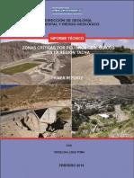 Zonas Criticas Tacna