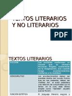 textosliterariosynoliterarios