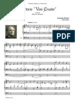 Perosi Lorenzo Offertorio Veni Creator Per Organo Original Work 76274