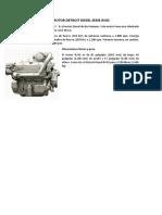 Especificaciones de Motores Jorege