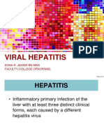 Hepatitis - Topic 3 for Sc