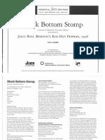 Black Bottom Stomp (Jelly Roll Morton) JALC Score