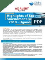 Uganda Tax Proposals 2018