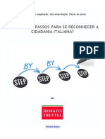 Passo-A-Passo Da Cidadania Italiana - Renato Trettel
