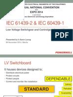 IEC 6142 2 Low Voltage Switchgear and Controlgear Assemblies