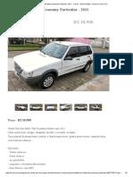 Fiat Uno Mille Way Economy Particular, 2011 - Carros - Desvio Rizzo, Caxias Do Sul _ OLX