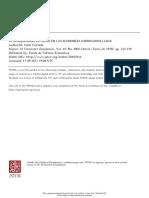 Celso Furtado Desequilibrio Externo en Las Economías Subdesarrolladas