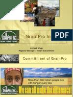 GrainPro Presentation Avinash