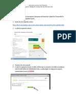 Instructivo Para Inscripcion en Calidad en El Desarrollo de Software 2018