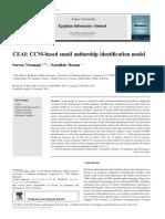 CEAI CCM-based Email Authorship Identification Mod