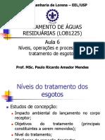 Aula 6 - Níveis, operações e processos de tratamento de esgotos.pdf