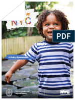 Growing Up Policy Brochure