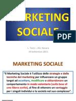 Marketing Sociale Tanzi