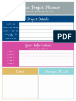 Crochet Project Planner Download 1