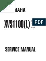 XVS1100 v-Star 1100 (99-00) Service Manual