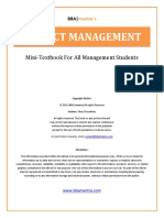 Project Management Notes by Bbamantra