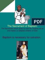 Sacrament of Baptism