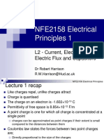 L2 - Current, E-field, Electric Flux and Capacitors