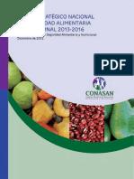 Plan Estrategico Institucional Alimentacion Nutricion El Salvador