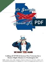 Honor Flight Briefing