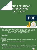 Catedra Finanzas Corp Ucc - Lectura y Comprensión de Estados Contables