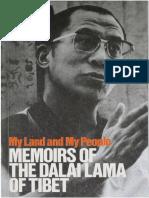 1962 My Land and My People - Memoirs of the Dalai Lama of Tibet