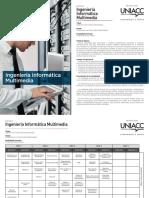 Malla Ingeniería Informática Multimedia
