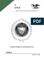 American Intelligence Journal Vol 30 No 1