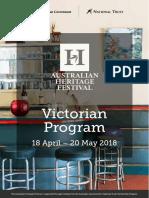 2018 Heritage Festival Program