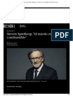 """Entrevista_ Steven Spielberg_ """"El Miedo Es Mi Combustible"""" _ EL PAÍS Semanal"""