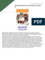 Ingenieria Termica Ejercicios Resueltos de Transmision de Calor