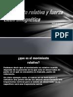Movimiento Relativo y Fuerza Electromagnética (1)