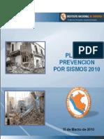 Plan de Prevencion por Sismos 2010