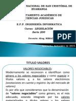 3-Titulos valores