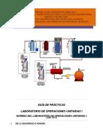 Laboratorio de Operaciones Unitarias i Junio2015