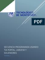 Tutorial 2 (Secuencia programda usando TIA Portal, LabVIEW y SolidWorks).pdf