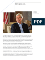 Jamie Dimon's CEO Letter to Shareholders 2017
