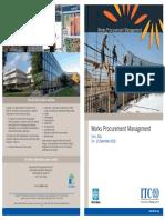 Works Procurement Management 2018