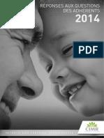 Brochure Réponses Aux Questions Des Adhérents 2014