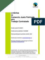 2.1.7.2. Criterios de Comercio Justo Fairtrade Para Trabajo Contratado.