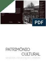 Patrimônio Cultural Memória e Intervenções Urbanas