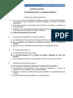 08. Autoevaluacion Introduccion a La Farmacocinetica Respuestas